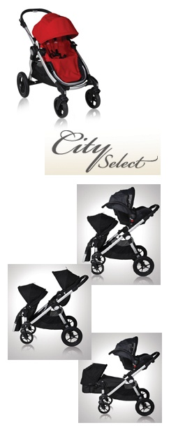 Bj Select Spotlight Product Review:  Baby Jogger City Select