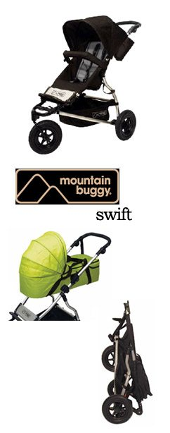 Swift Pic Spotlight Product Review:  Mountain Buggy Swift