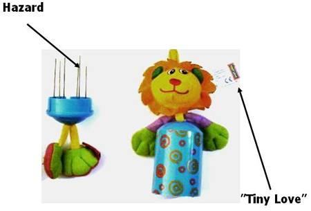 tinylove recall Recall: Tiny Love Recalls Wind Chime Toys