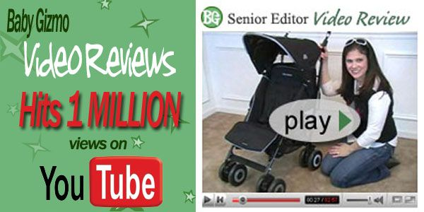 Baby Gizmo Video Reviews Hits 1 Million Views!!