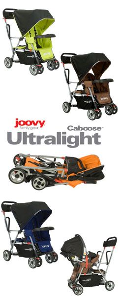 Ultralight Spotlight Product Review: Joovy Caboose Ultralight 2010