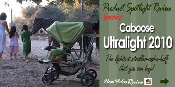 Ultralight1 Spotlight Product Review: Joovy Caboose Ultralight 2010