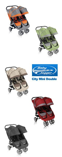 CityMiniDouble Spotlight Product Review:  Baby Jogger City Mini Double