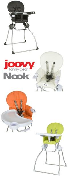 Joovy Nook Spotlight Product Review:  Joovy Nook High Chair
