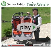 SEVR Ad CityDouble Spotlight Product Review:  Baby Jogger City Mini Double