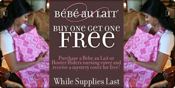 bebeaulait promotion Buy One Get One Free from Bebe au Lait