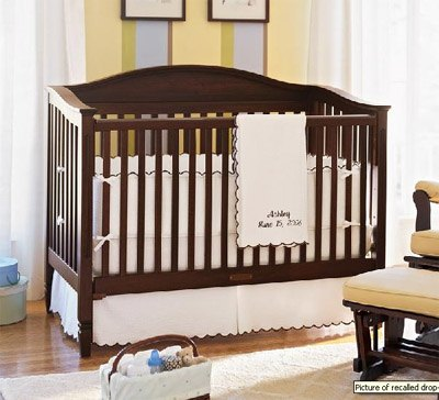 PBK recall Pottery Barn Kids Recalls 82,000 Drop Side Cribs