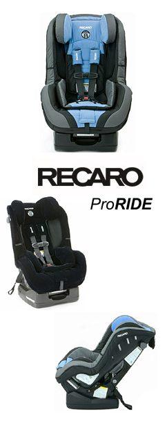 Recarco ProRide Spotlight Product Review:  Recaro ProRide Convertible Seat
