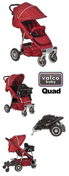 quad Spotlight Product Review:  Valco Baby Quad