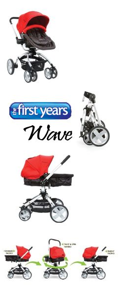 Article Wave Spotlight Product Review: The First Years Wave Stroller