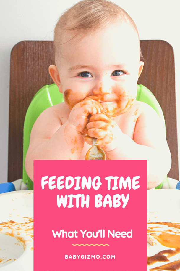 feeding time with baby