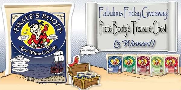 PirateGiveaway Fabulous Friday Giveaway: Pirate's Booty Treasure Chests