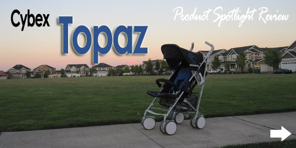 Topaz banner Spotlight Product Review:  Cybex Topaz Stroller