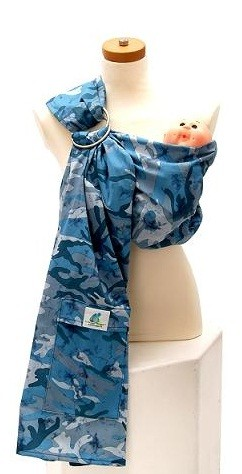 blue camo ring sling