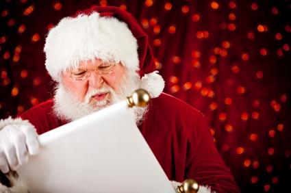 Dear Santa, All I Want for Christmas Is..