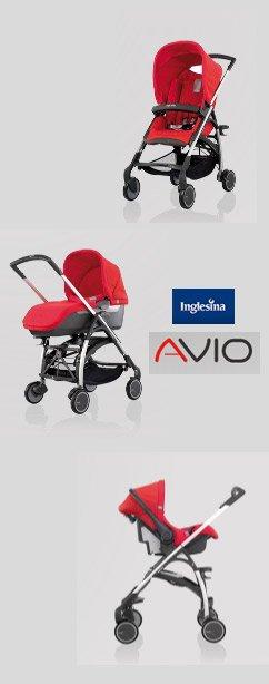 avio pic Spotlight Product Review: Inglesina Avio Stroller