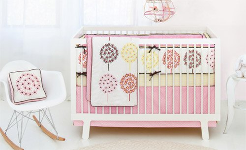 skiphop flower Skip Hop Flower Burst Crib Bedding Collection Now Available