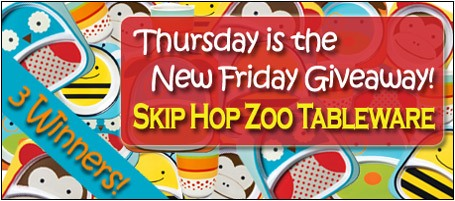 homead289 Thursday Giveaway: Skip Hop Tableware – 3 Winners!