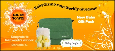 homeadgiveaway1 31 11 Baby Gizmo Weekly Giveaway: New Baby Gift Pack