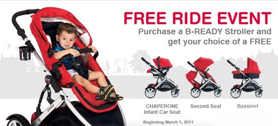Britax B-Ready Free Ride Event | Baby Gizmo