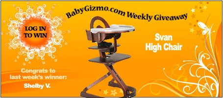 Homeadgiveaway2 7 11 Baby Gizmo Weekly Giveaway:  Svan High Chair