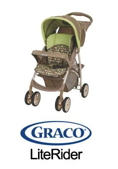 article literider Spotlight Product Review:  Graco LiteRider Stroller