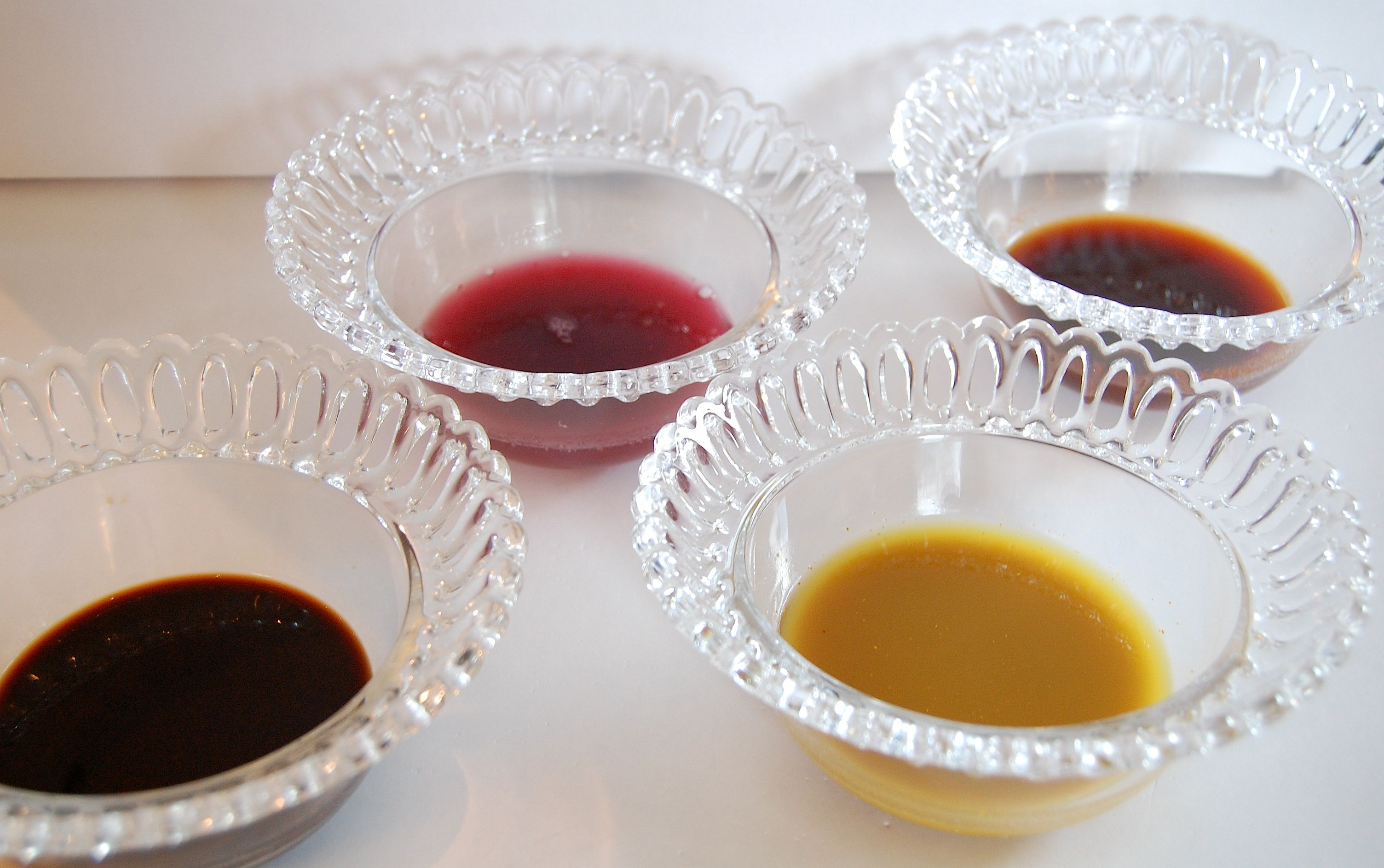 Dye in Bowls