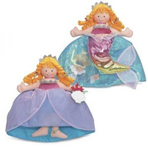 Topsy Turvy Doll Mermaid