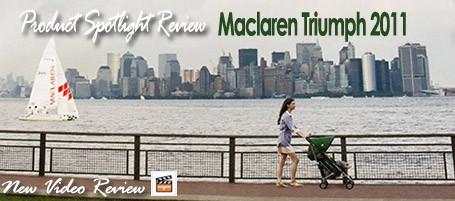 maclarentriumph Baby Gizmo Spotlight Review: Maclaren Triumph 2011