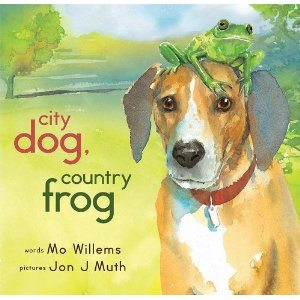 City Dog, Country Frog by Mo Williams and Jon J. Muth, $9.89, at amazon.com
