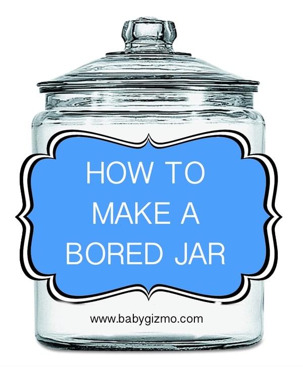 """Summer fun in a jar — make an """"I'm bored"""" activity jar"""