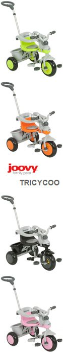 Joovy Tricycoo:  A Trike to Grow with Your Child