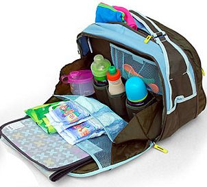 packeddiaperbag Got a Flight Planned?  Heres What You Need for the Diaper Bag