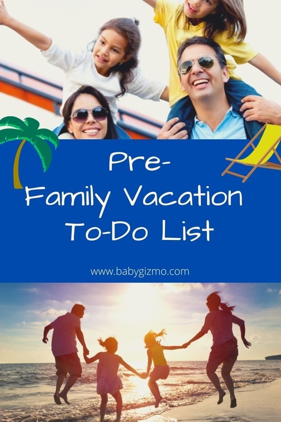 Family Vacation List