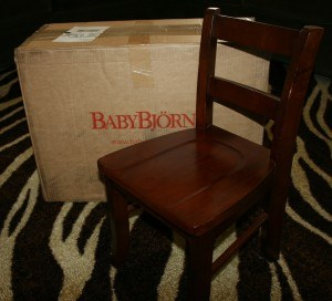 IMG 1352 300x272 Spotlight Product Review: BabyBjörn High Chair