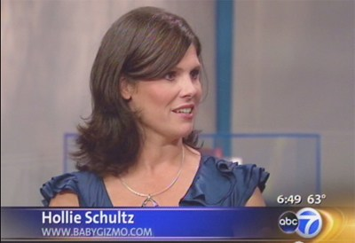 Hollie Visits ABC7 Chicago to Talk Back-to-School