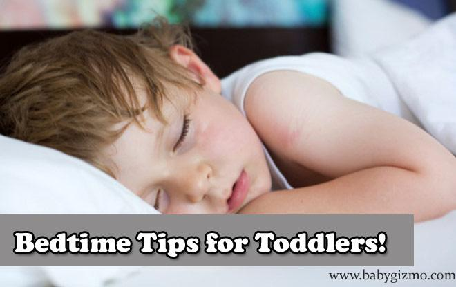 bedtime tips for toddlers