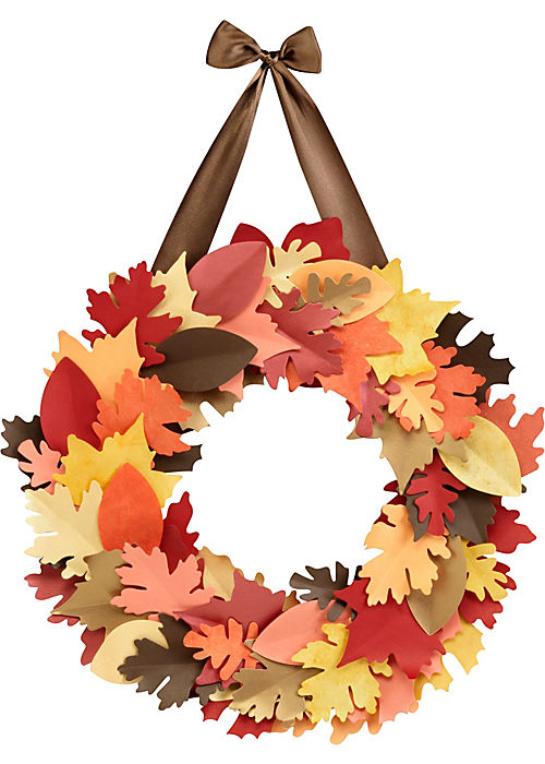 Welcome the cool fall weather with crafts to match the season!