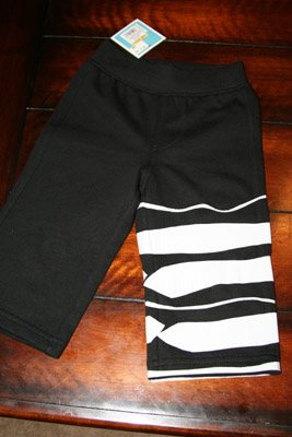 zebra pants for a toddler