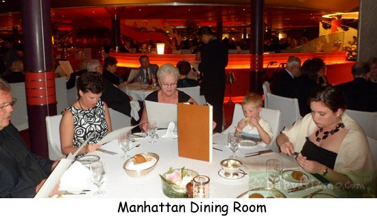 HAL Dining1 Holland America Nieuw Amsterdam Review: Is it Kid Friendly?