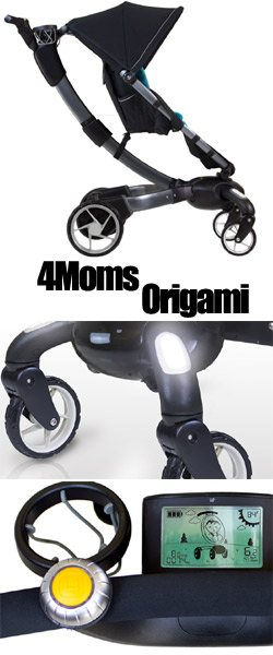 Baby Gizmo Spotlight Review 4moms Origami Stroller