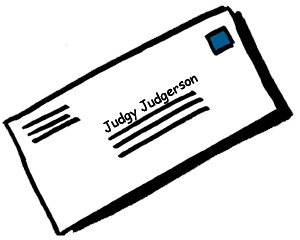 Dear Judgy Judgersons...