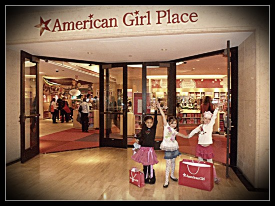 Am exterior Baby Gizmo Takes a Look Inside The American Girl Place (VIDEO)
