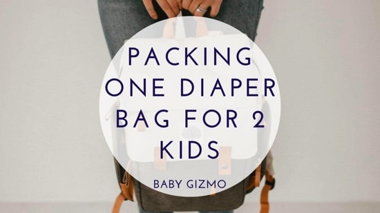 Tips for Packing One Diaper Bag for Two Small Kids