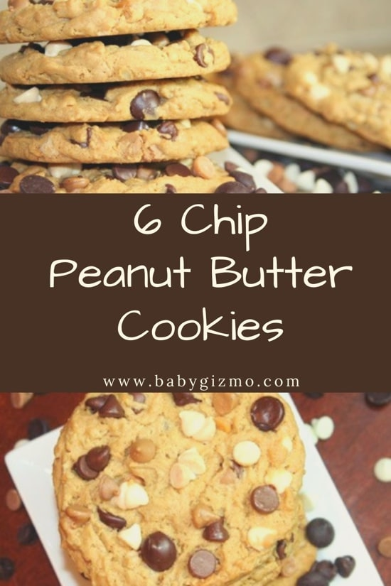 6 chip peanut butter cookies