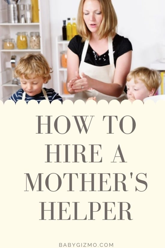 How to hire a mother's helper