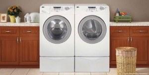 diaper in washing machine