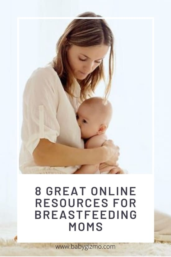 8 Great Online Resources for Breastfeeding Moms
