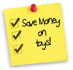 5 Tips for Buying Toys Without Paying a Fortune