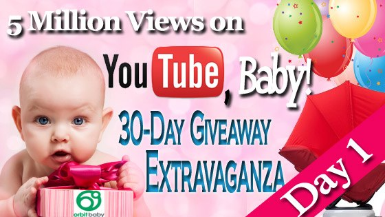youtube celebration1 Baby Gizmo YouTube Giveaway Extravaganza Day 1